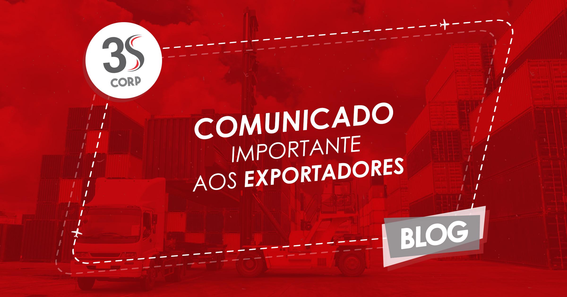 Blog _ (Comunicado Importante aos Exportadores)